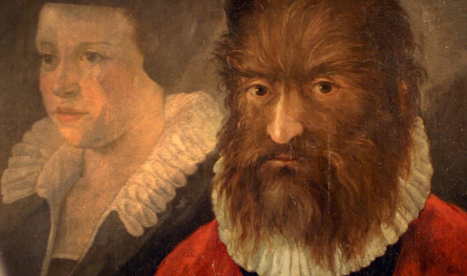 Petrus Gonsalvus e la sua sposa