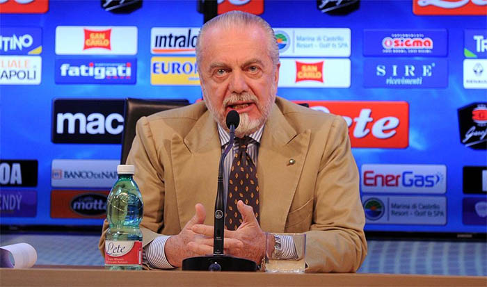 """Calcio Napoli, talent show: """"Amici di Aurelio De Laurentiis"""""""
