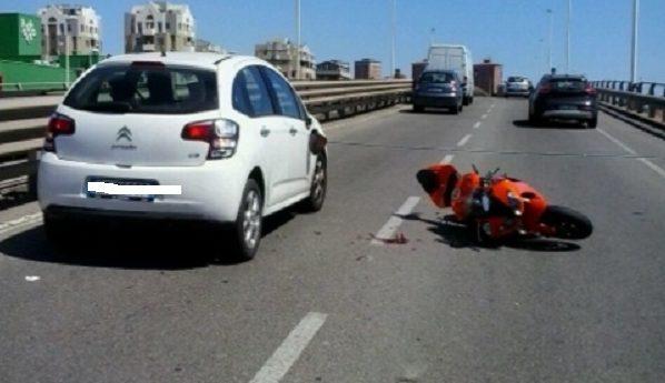 Incidente Asse Mediano: morto Antonio Verde, era in sella alla sua moto