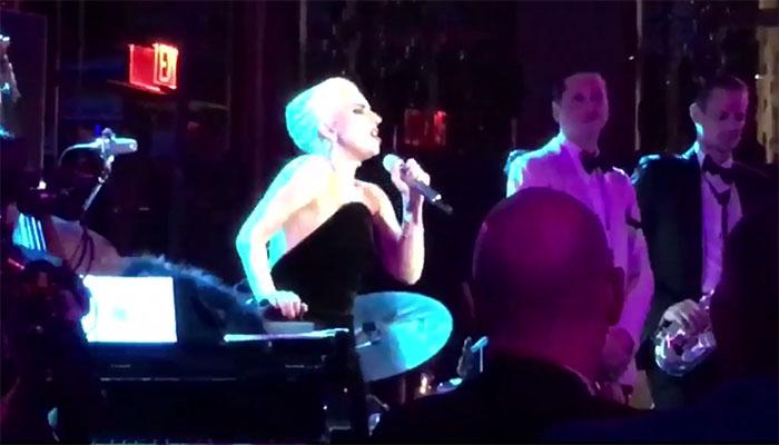 Lady Gaga canta 'O sole mio