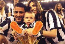 Tifosi azzurri solidali nei confronti del figlio di Leonardo Bonucci