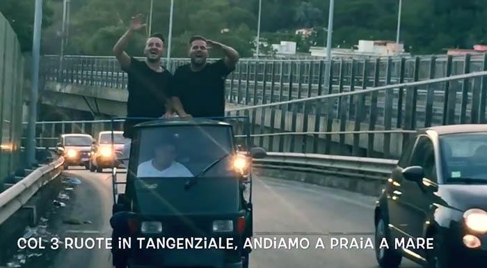 """""""Andiamo a Praia a Mare"""" la parodia napoletana di """"Andiamo a Comandare"""""""
