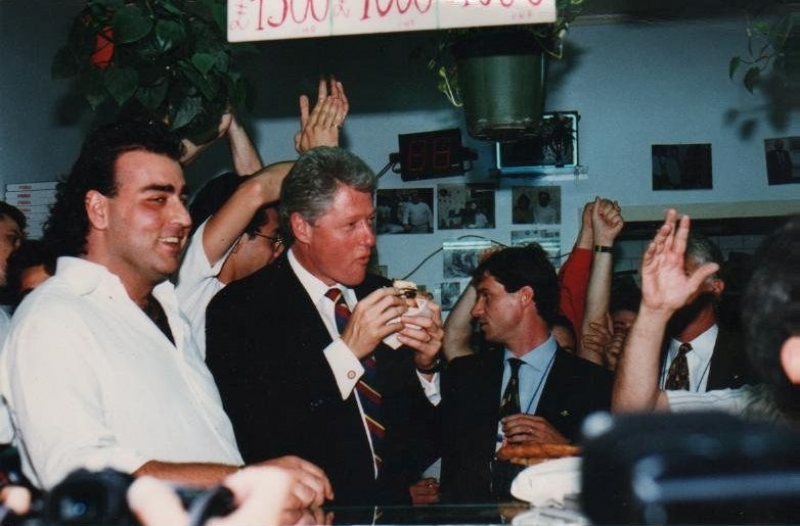 Bill Clinton Pizza Napoli