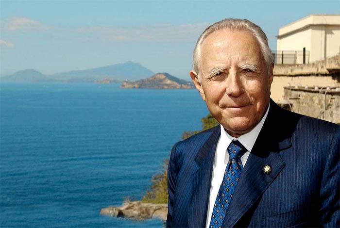 """Carlo Azeglio Ciampi amava Napoli: """"Questa città è la mia carica"""""""