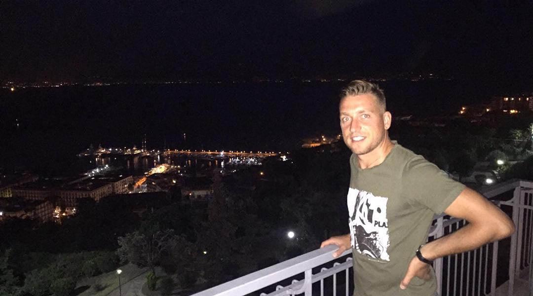 """Emanuele Giaccherini: """"Che meraviglia il Golfo di Napoli"""""""