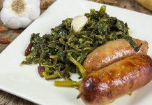 Ricetta salsicce e friarielli alla napoletana: un'antica tradizione