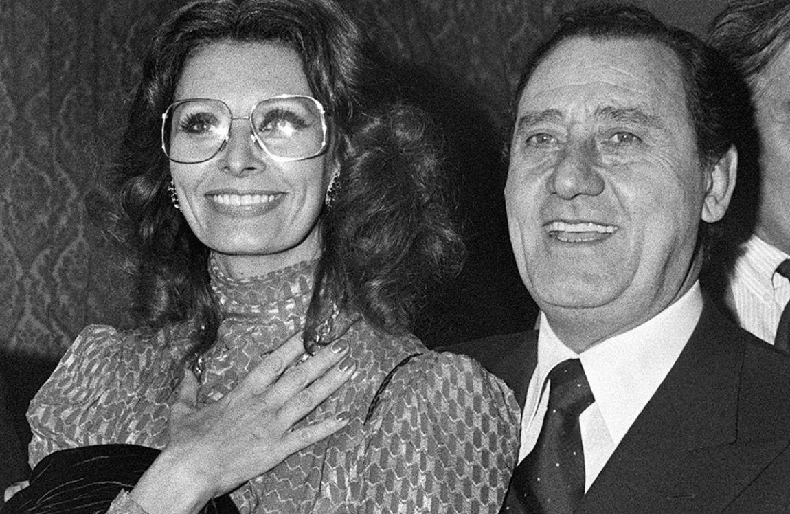 Sophia Loren e Alberto Sordi