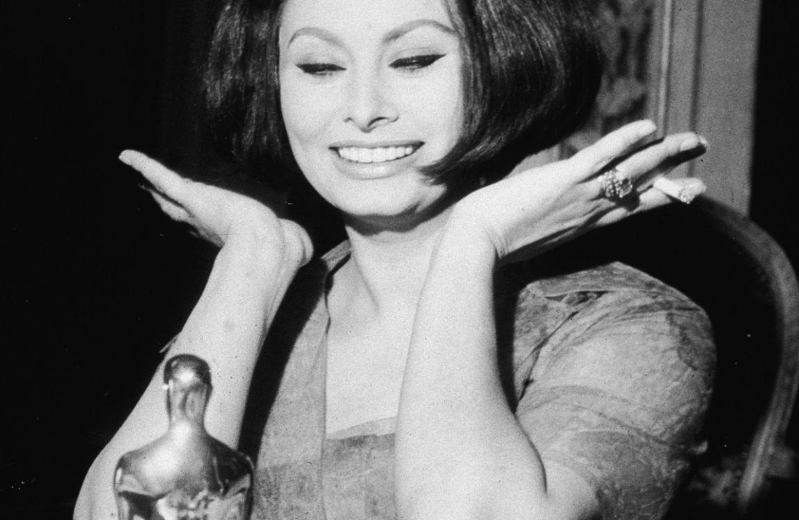Sophia Loren e il suo oscar