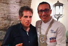 Ben Stiller a Napoli per assaggiare la pizza di Gino Sorbillo