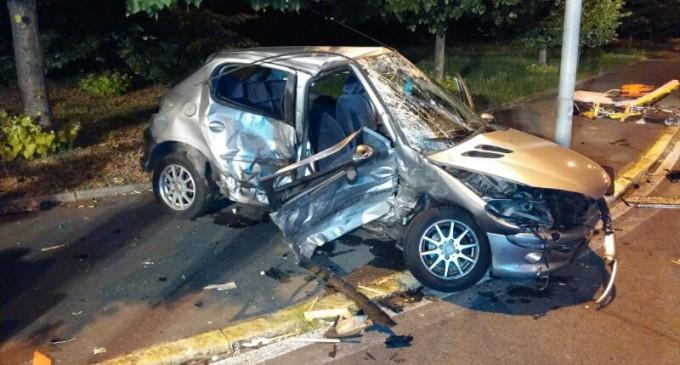 Incidente a Boscoreale, scontro tra 2 vetture: a bordo numerosi ragazzini