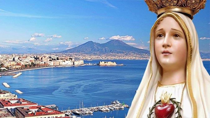 Madonna di Fatima arriva a Napoli per il centenario dalla sua apparizione