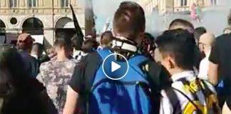Cori antinapoletani intonati dai tifasi della Juventus (VIDEO)
