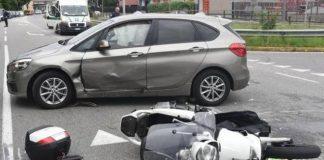 Incidente stradale ad Avellino: coinvolte una donna e una bambina