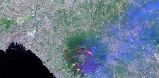 Roghi sul Vesuvio: la mappa della distruzione