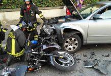 Incidente stradale a Portici: perde la vita giovane centauro