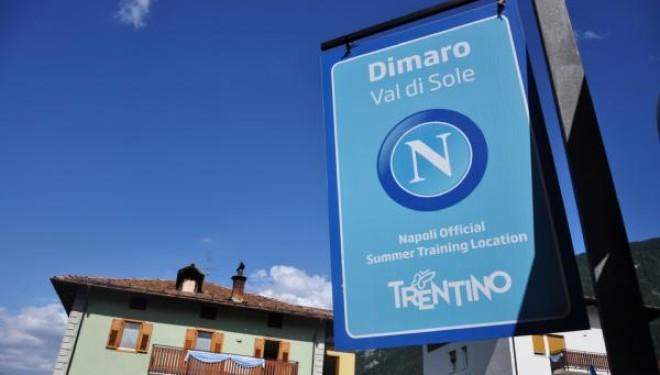 Napoli a Dimaro: ad allietare il ritiro i comici di Made in Sud