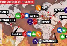 """Il """"Sun"""": Napoli, tra le città più pericolose del mondo"""
