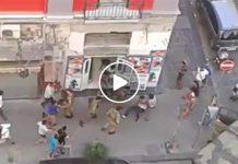 Napoli, Stazione Centrale un quartiere sotto dominio degli immigrati