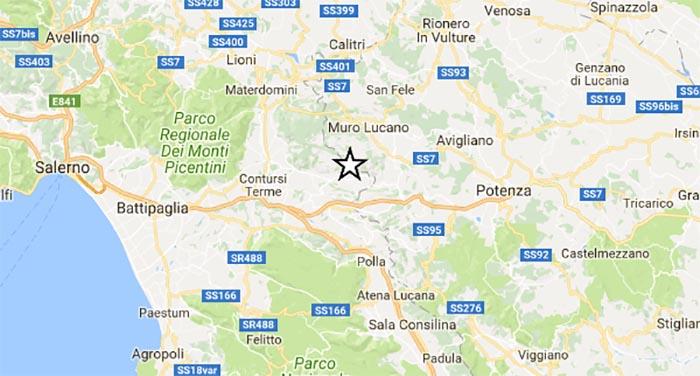 Terremoto in Campania: scossa di lieve intensità a Salerno