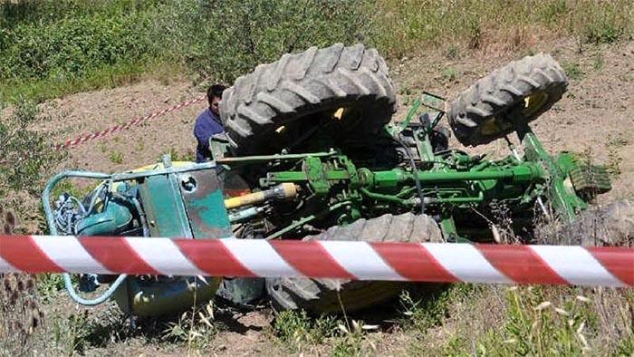 Benevento: schiacciato dal trattore che stava guidando