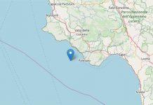 Terremoto oggi, Cilento: scossa di media intensità 2.8 magnitudo
