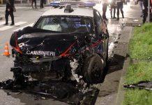 Incidente a Cicciano: coinvolta auto dei carabinieri