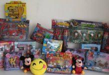 Sequestrati 10mila giocattoli pericolosi per la salute dei bambini