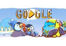 """""""Buone Feste"""" è il doodle di Google per augurare Buon Natale"""