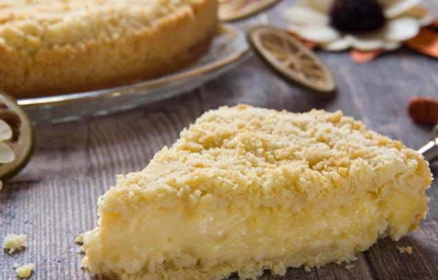 Ricetta della sbriciolata alla crema pasticcera: un dolce facile da preparare