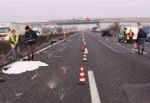 Incidente sull'A1, Milano - Napoli: uomo a piedi travolto da un'auto