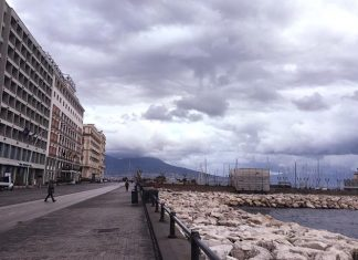 Meteo Napoli: piogge h24 e temperature polari