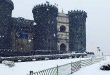 Emergenza Neve a Napoli, il comunicato ufficiale del Comune