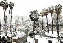 Neve a Napoli