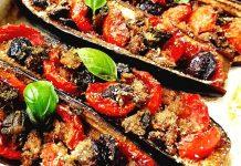 Ricetta delle melanzane a barchetta napoletane: le originali