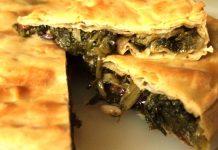 Ricetta della pizza di scarola napoletana: una reginetta deliziosa