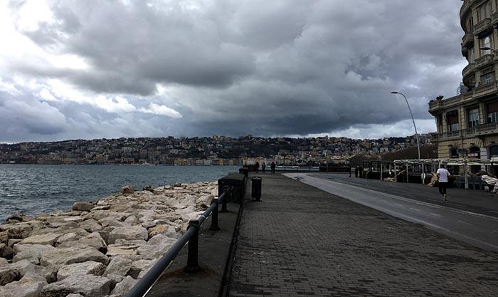 Meteo Napoli, marzo 2018: una nuova allerta, previste forti piogge