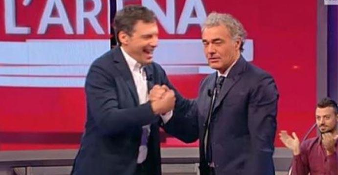"""Massimo Giletti su Fabrizio Frizzi: """"Se n'è andato un fratello"""""""