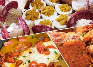 Il menu del pranzo della Domenica delle Palme a Napoli