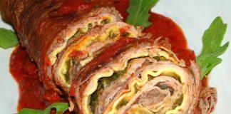 Ricetta del braciolone alla napoletana ripieno e gustoso
