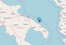 Terremoto oggi, Puglia: scossa molto intensa rileva a Brindisi