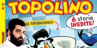 """Antonino Cannavacciuolo diventa """"Paperacciuolo"""" sul Topolino"""