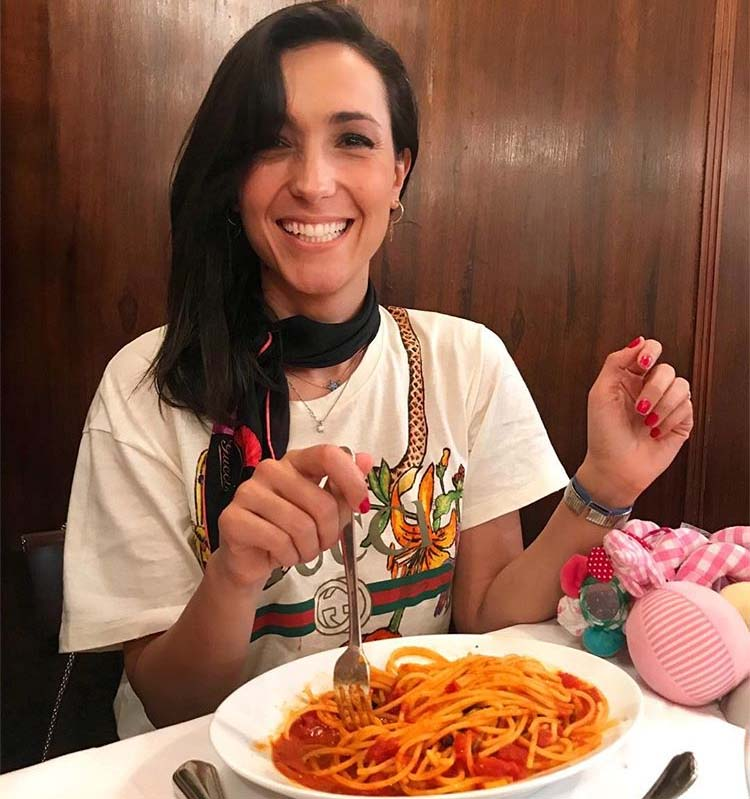 """Caterina Balivo in forma con la pasta: """"La mangio due volte al giorno"""""""