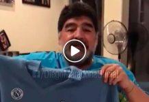 """Maradona e il dono a Marek Hamsik: """"Noi abbiamo giocato in un grande Napoli"""""""