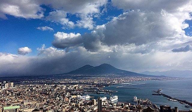 Meteo Napoli: benvenuta primavera grazie ad Hannibal