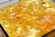 Ricetta pasta e patate con provola al forno e napoletana