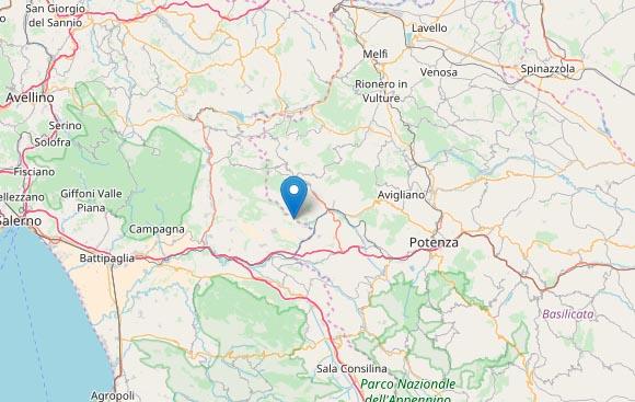 Terremoto in Campania a Salerno: scossa di magnitudo 3.2