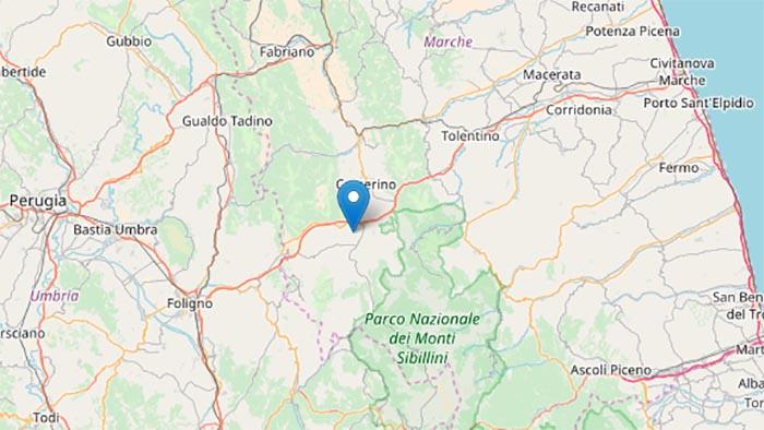 Terremoto oggi, Macerata: epicentro Muccia, magnitudo 4.6