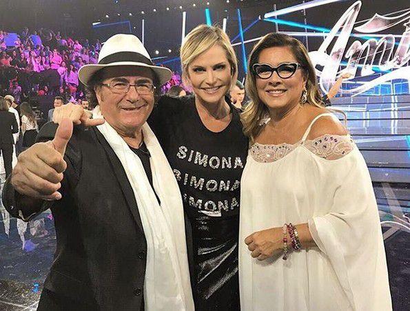 """Simona Ventura: """"Tra Al Bano e Romina c'è qualcosa di più"""""""
