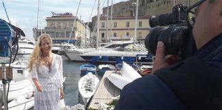 """Grecia Colmenares a Napoli: """"Vorrei fare Un Posto al Sole"""""""
