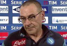 Calcio Napoli, si contratta per il rinnovo di Mr Sarri